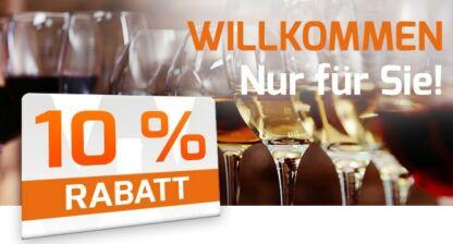 Weinvorteil: 10 Prozent Rabatt