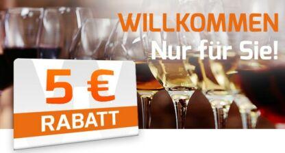 Weinvorteil 5 Euro Rabatt